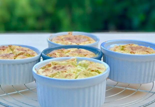souffle courgettes